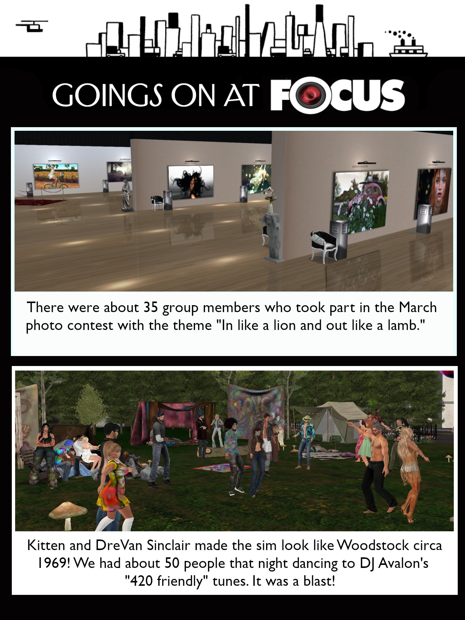 Goings On at FOCUS Magazine & Gallery